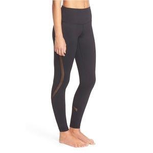 Zella Sheer to Here High Waisted Legging in Black